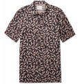 Red Ear - Jazz Man-Print Cotton Shirt