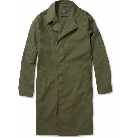Woolrich Woolen Mills Long Packaway Coat