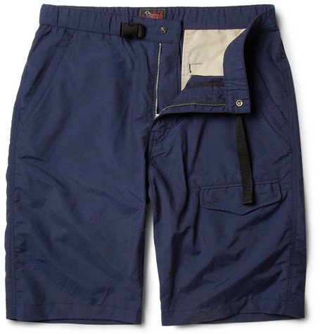 Woolrich Woolen Mills Straight-Leg Cotton-Blend Shorts