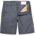 Rag & bone - Slim-Fit Cotton and Linen-Blend Shorts