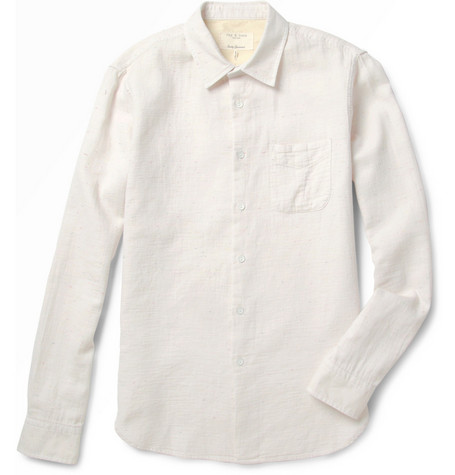 Rag & bone Cotton-Blend Shirt