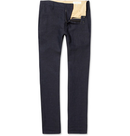Rag & bone Slim-Fit Linen Chinos