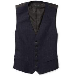 Rag & bone Slim-Fit Linen Waistcoat