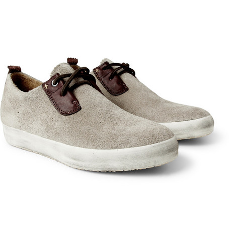 Rag & bone Suede and Leather Lace-Up Shoes