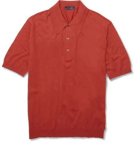 John Smedley Isis Sea Island Cotton Polo Shirt