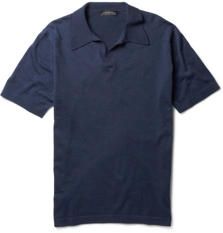 John Smedley Jeremy Sea Island Cotton Polo Shirt