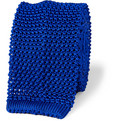 Richard James - Slim Knitted Silk Tie