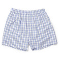 Sunspel Check Cotton Boxer Shorts