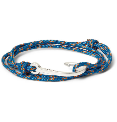 Miansai Utility Rope and Hook Bracelet