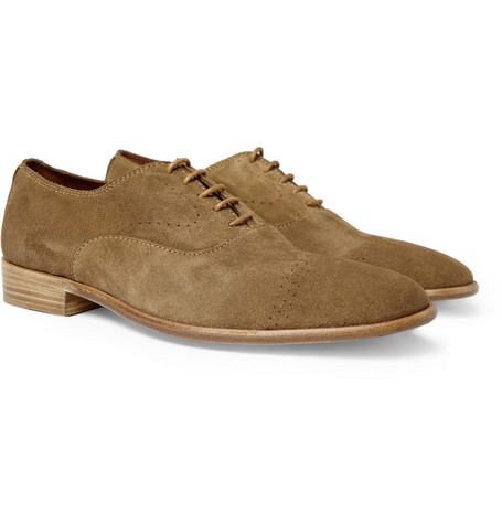 Folk Bobby Suede Oxford Shoes