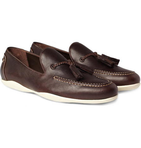 Harrys of London Dylan Leather Loafers