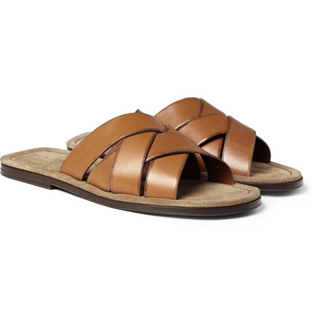 Harrys of London Gil Multi-Strap Leather Sandals