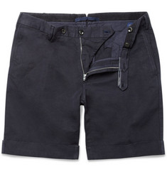 Incotex Incotex Linen and Cotton-Blend Shorts