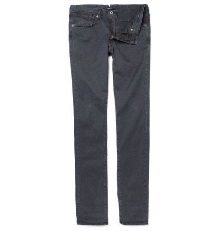 Slowear Incotex Slim-Fit Garment-Dyed Jeans