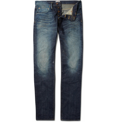 Edwin ED55 Faded Slim-Fit Jeans
