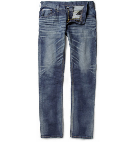 Edwin Sen Slim-Fit Selvedge Denim Jeans