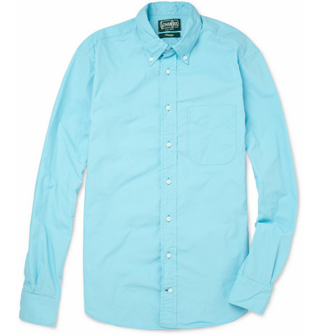 Gitman Vintage Slim-Fit Cotton-Poplin Shirt