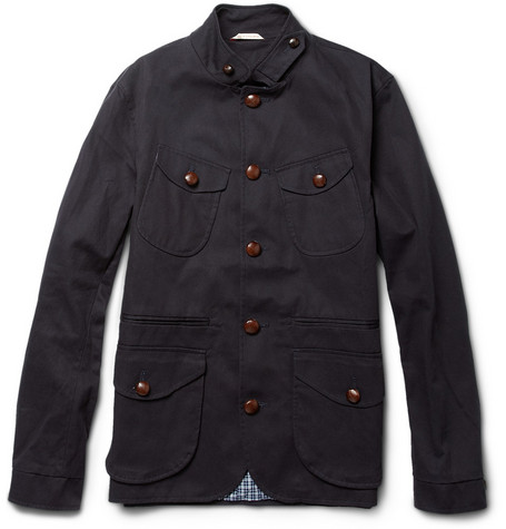 Oliver Spencer Byron Cotton-twill Jacket