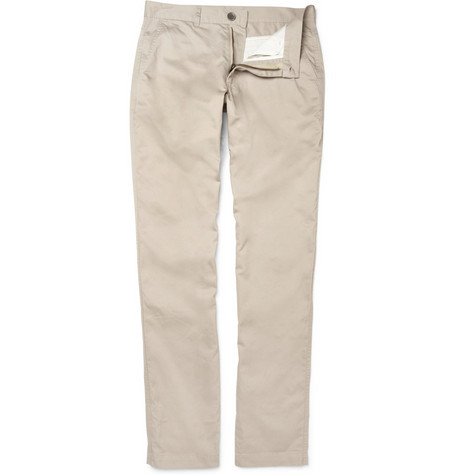 Oliver Spencer Shakespere Cotton-Twill Chinos