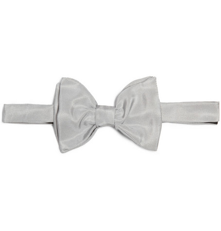 Lanvin Grosgrain Double Bow Tie