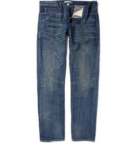 Levi's Made & Crafted Washed Slim-Fit Jeans