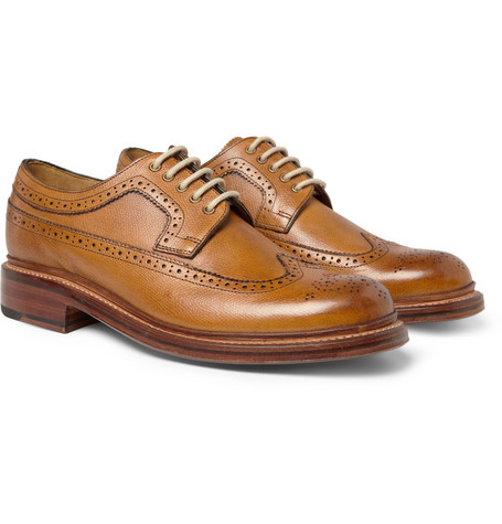 Grenson Sid Longwing Leather Brogues