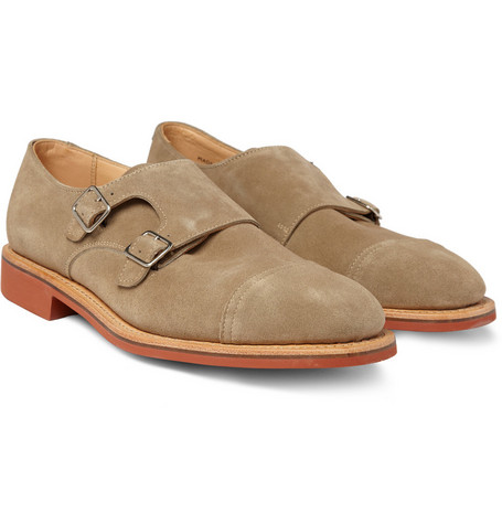 Mark McNairy Contrast-Sole Double Monk-Strap Shoes