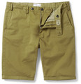 Gant Rugger - Slim-Fit Stretch-Cotton Chino Shorts