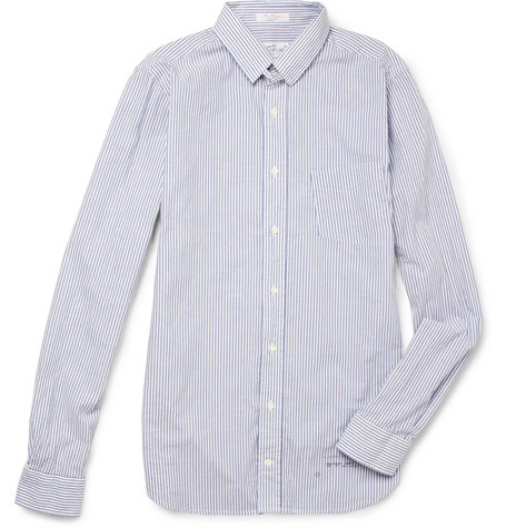 Gant Rugger Striped Washed-Cotton Oxford Shirt