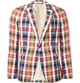 Gant Rugger - Madras Check Cotton Blazer