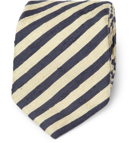 Gant Rugger Striped Slub Silk Tie