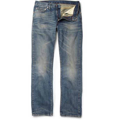Levi's Vintage Clothing 1967 505 Distressed Slim-Fit Selvedge Jeans