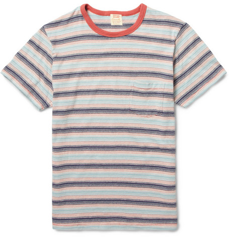 Levi's Vintage Clothing 1960 Striped Cotton T-Shirt