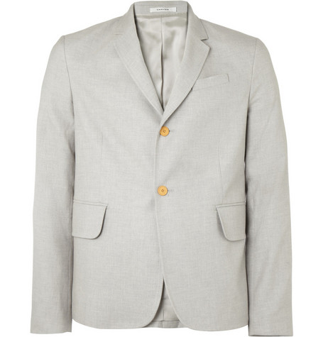 Carven Unstructured Cotton Blazer