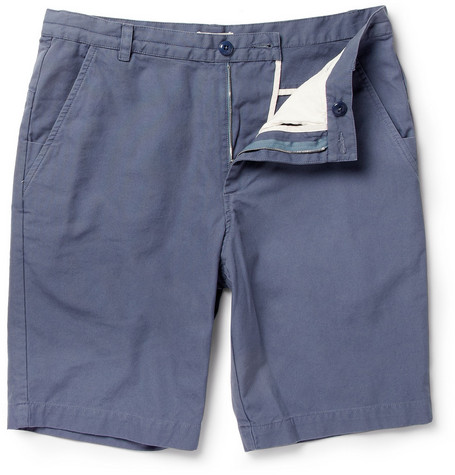 Folk Tom Cotton-Canvas Shorts