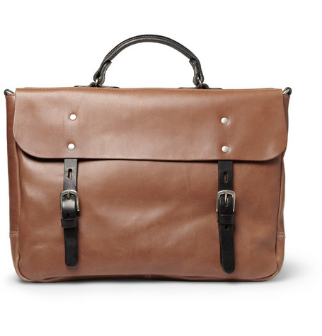 Ally Capellino Richard Leather Briefcase