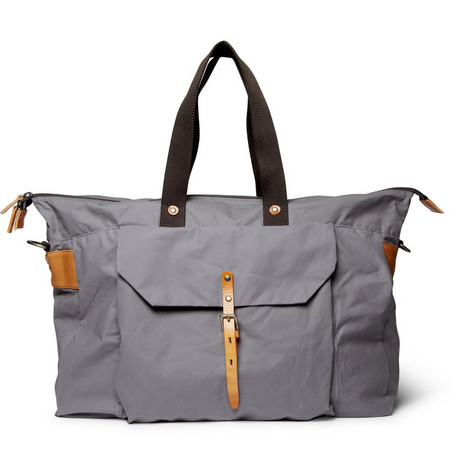 Ally Capellino Freddie Waxed-Cotton Holdall Bag