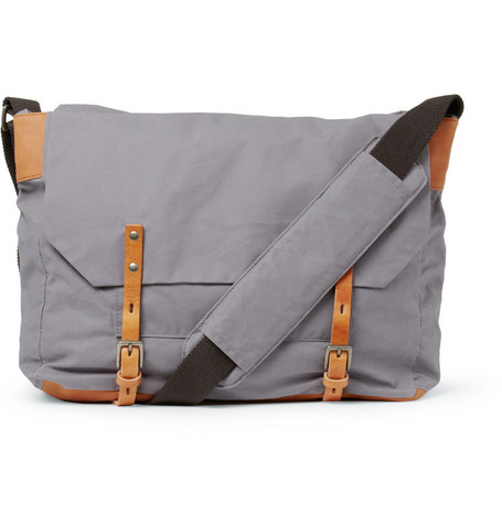 Ally Capellino Jeremy Waxed-Cotton Messenger Bag