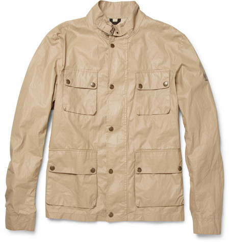 Belstaff Kerala Lightweight Coated Cotton-Blend Jacket