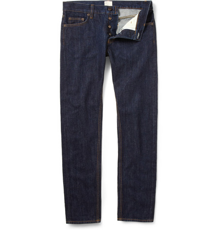Jean.Machine JM-1 Slim-Fit Rinse Selvedge Jeans