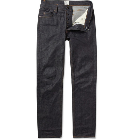Jean.Machine J.M-2 Straight-Leg Dry Denim Jeans