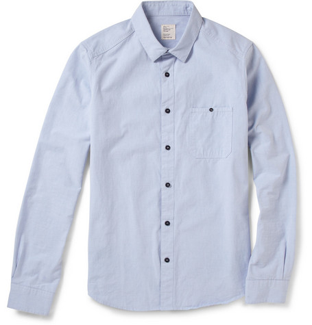 Jean.Machine City Cotton-Chambray Shirt