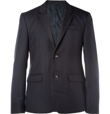 Aubin & Wills Huntstaw Wool-Twill Suit Jacket