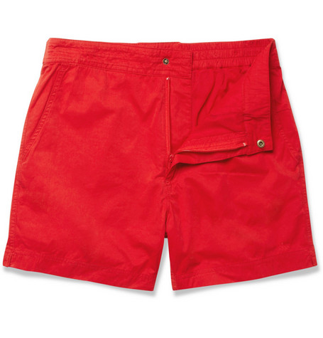 Aubin & Wills Mid-Length Swim Shorts