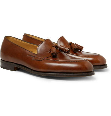 John Lobb Truro Tasselled Leather Loafers