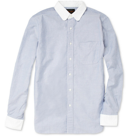 Beams Plus Cotton Oxford Shirt