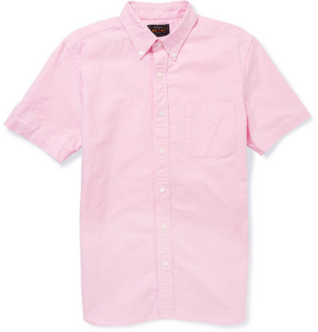 Beams Plus Supima Cotton Oxford Shirt