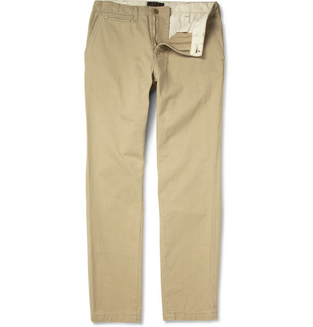 Beams Plus Cotton-Twill Chinos