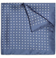 Drake's - Polka-Dot Silk Pocket Square