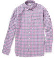 J.Crew Dalton Checked Cotton Shirt